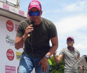 En imágenes, Juan Palau de gira con el Clásico RCN