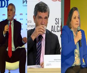Encuesta: Carrera por la alcaldía Peñalosa y Pardo va empatados