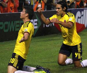 Colombia, a superar la ausencia de James y esperar goles de Falcao