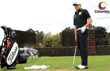 Marcelo Rozo, el día que inició su romance con el golf