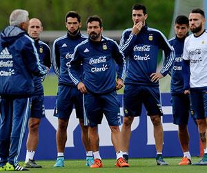 Selección Argentina: Mire acá el entrenamiento a puerta cerrada