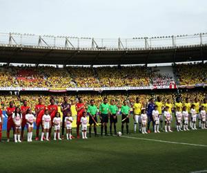 La victoria de la Selección Colombia ante Perú en imágenes