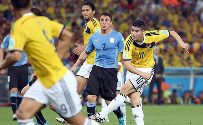 Selección Colombia: Mejores goles vs. Uruguay