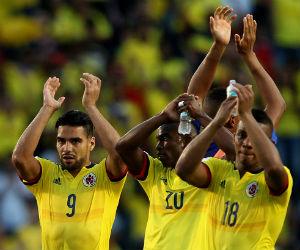 Colombia cayó en las garras de Uruguay y perdió en Montevideo