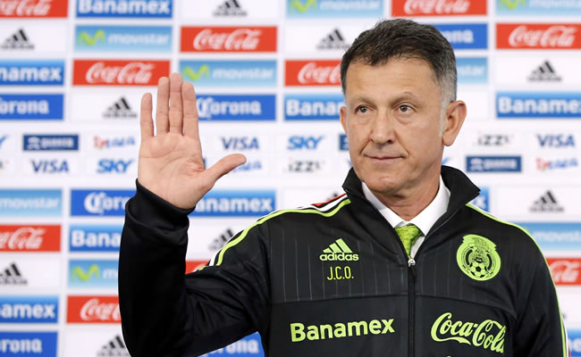 Presentación de Juan Carlos Osorio en México. Foto: EFE