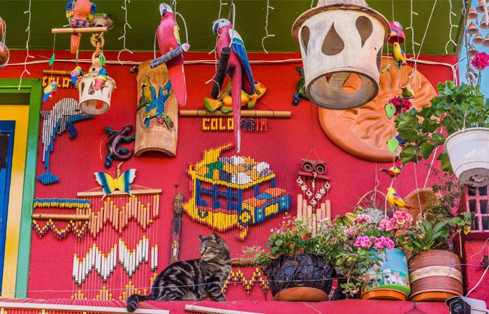 Ráquira un pueblo de arcoíris artesanal. Foto: Shutterstock