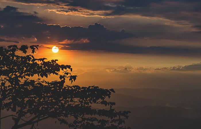 Atardecer en Manizales. Foto: Shutterstock