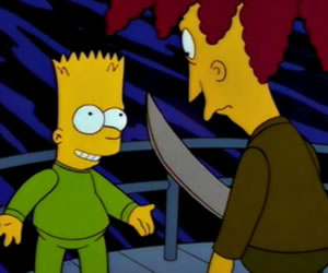 Bob Patiño finalmente asesinará a Bart Simpson