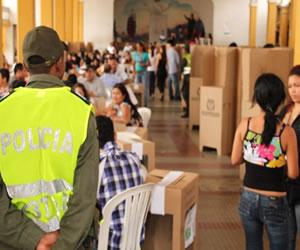 Cerca de 400 mil hombres custodiarán jornada electoral en Colombia