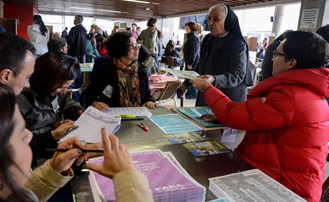 Elecciones en Colombia. Foto EFE