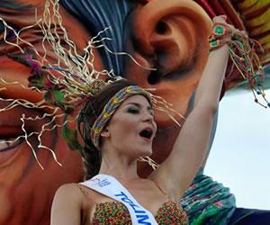Señorita Colombia: Belleza y color en el Desfile de la Independencia