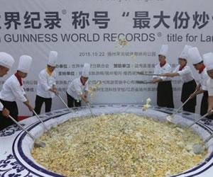 Guinness retira el récord a una arrozada por desperdiciar comida