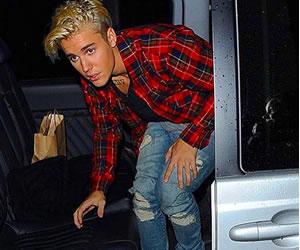Justin Bieber protagonizó escándalo en vivo