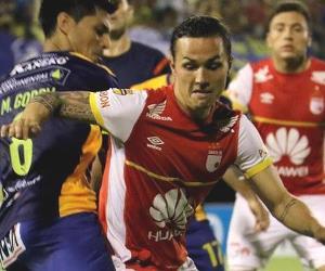 En imágenes, la visita de Santa Fe a Sportivo Luqueño
