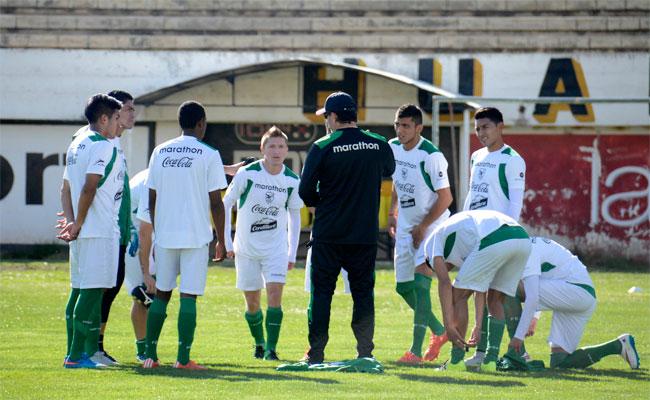 Entrenamiento de la selección boliviana de fútbol. Foto: ABI