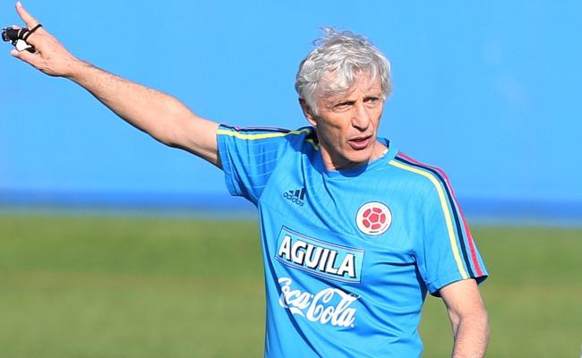 José Pékerman dijo que no renunciará a ser el DT de Colombia. Foto: EFE