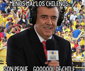 Chile vs. Colombia en memes