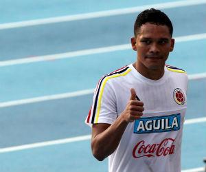 Carlos Bacca destacó la templanza de la Selección Colombia
