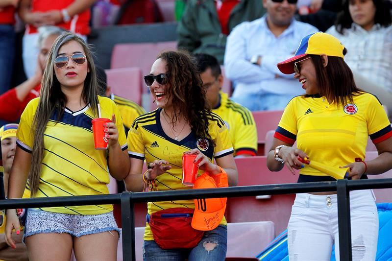 El público de la eliminatoria suramericana. Foto: EFE