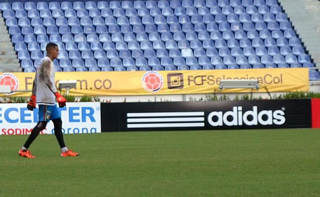 Entrenamiento de la Selección Colombia en el Metroopolitano. Foto: Interlatin