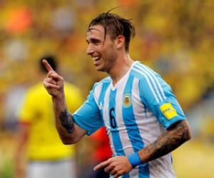 El gol de Biglia que le dio el triunfo a Argentina ante Colombia