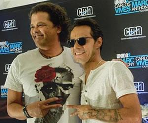 Carlos Vives y Marc Anthony cantarán en la boda de Sofía Vergara