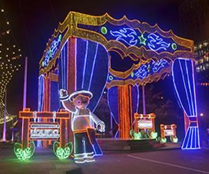 Navidad: Medellín espera lucirse con la iluminación navideña