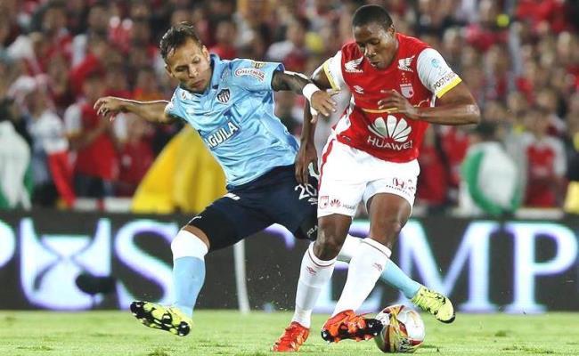 Santa Fe y Junior repetirán la final de la Copa Colombia. Foto: EFE
