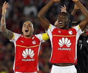 Santa Fe finalista de la Copa Sudamericana en imágenes