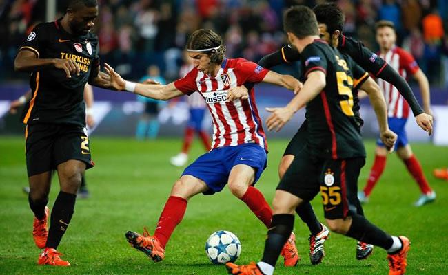 Atlético de Madrid venció 2-0 a Galatasaray y clasificó a octavos de final. Foto: EFE