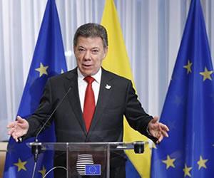 'Colombia recupera su 'dignidad' con la eliminación de visa Schengen': Santos