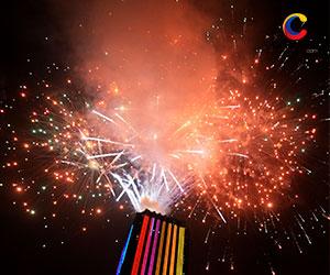 Navidad: Se encienden las luces en la Torre Colpatria