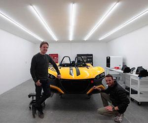 Primer auto mexicano ultra ligero y de alta velocidad
