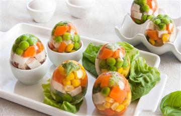Gelatinas Frescas de Vegetales