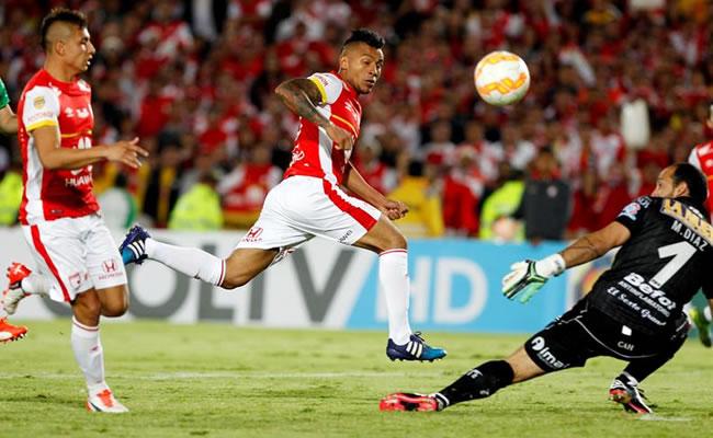 Santa Fe campeón de la Copa Sudamericana. Foto: EFE