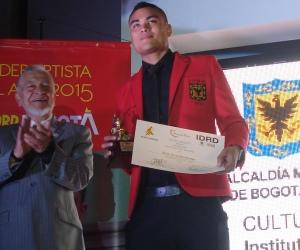 Galería, así fue la gala de premiación al 'Deportista del Año de Bogotá 2015'