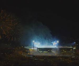 Este drone captó lo que usted no vio de la final de la Copa Sudamericana