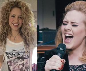 Shakira habría demandado a Adele por plagio