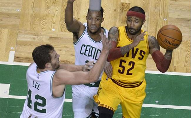 Cleveland venció a los Celtics. Foto: EFE