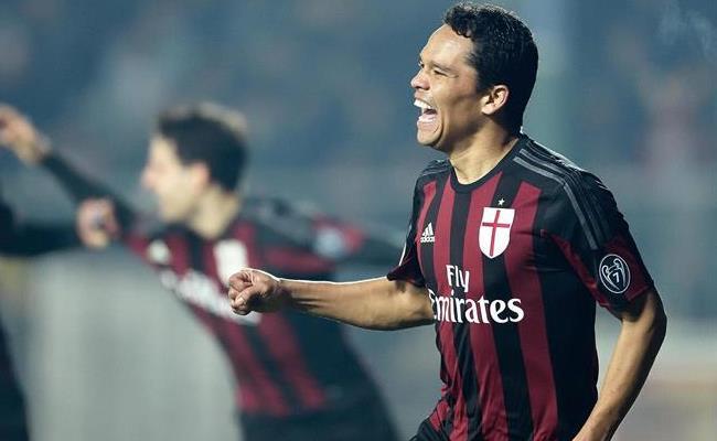 Carlos Bacca llegó a ocho anotaciones en la liga italiana. Foto: EFE