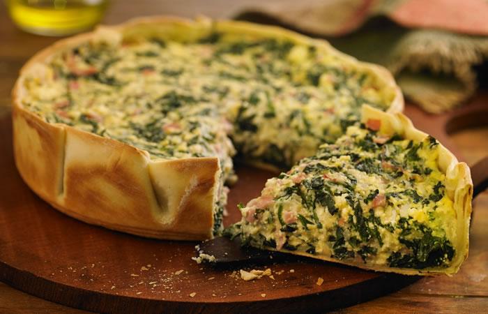 Tartaleta de Rúcula y Pollo
