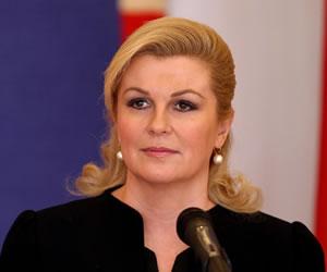 La presidenta de Croacia y su despampanante doble - Mundo ...