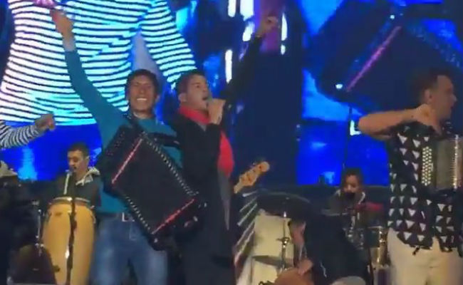 Nairo Quintana al son de Kvrass y Silvestre Dangond en Tunja