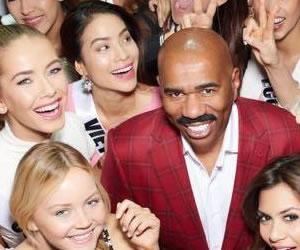 Miss Universo continuaría con Steve Harvey como presentador