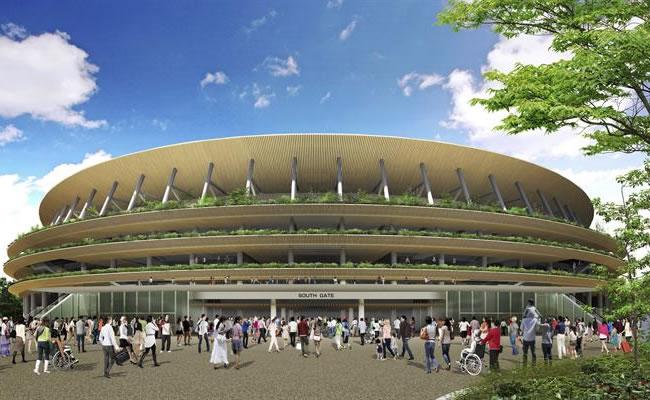 Tokio presentó el proyecto de su estadio para olímpicos de 2020
