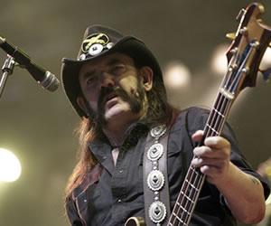 Motörhead pierde al 'Inmortal' Lemmy Kilmister
