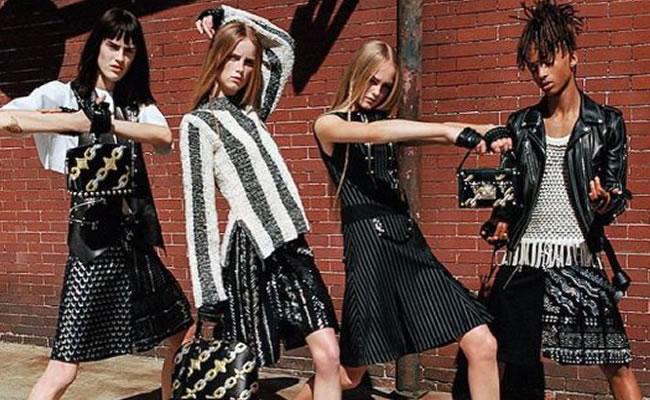 Jaden Smith es la nueva imagen de Louis Vuitton