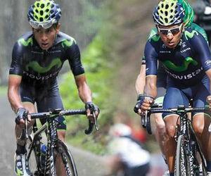 Nairo Quintana y su hermano alistan el inicio de temporada