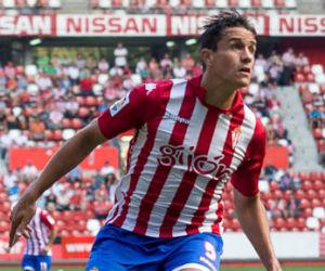 Bernardo Espinosa, el consentido en el Sporting Gijón
