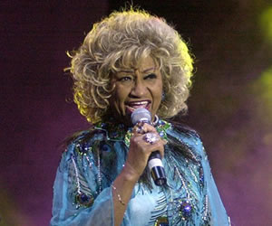Celia Cruz recibe Grammy honorífico